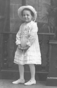 Gilberte at the age of 6