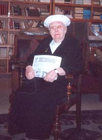 Mrs. Gilberte Côté-Mercier on February 25, 2001