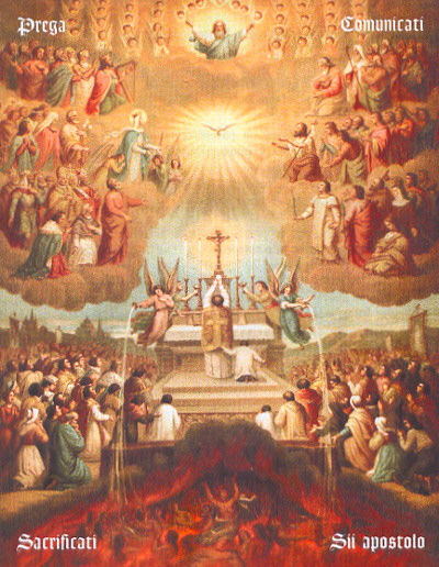 Mass for the purgatory's souls