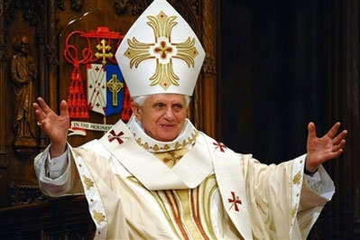 Benedict XVI homily at St. Parick's