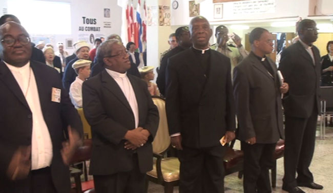 The five archbishops from Africa