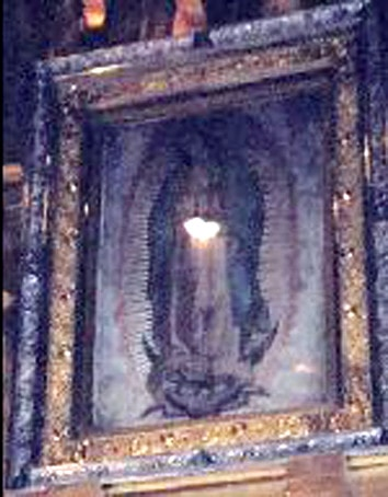 The Miraculous Image Of Our Lady Of Guadalupe