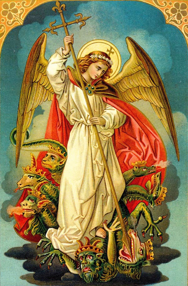 The Prayer to St  Michael the Archangel