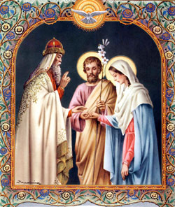 The mariage of Mary with St. Joseph