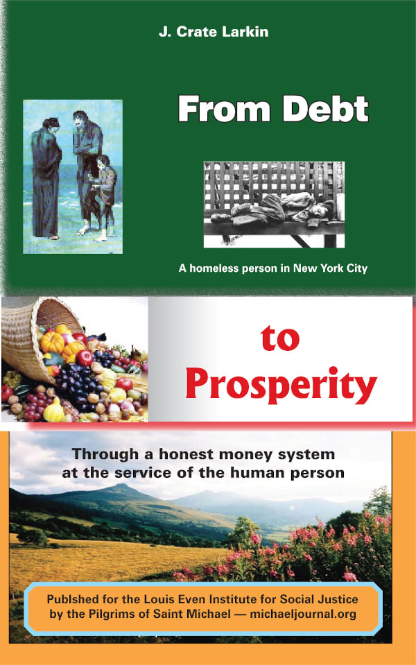 From debt to prosperity book cover