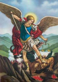 Image result for saint michael prayer