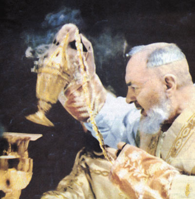 Image result for padre pio mass
