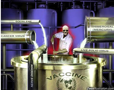 Toxic mix for vaccines