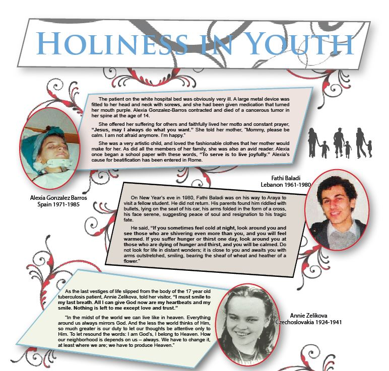 Holiness in youth 1
