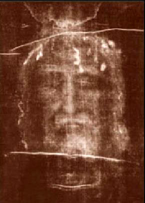 Negative of the Shroud