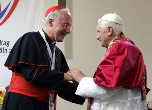 Cardinal Ouellet and Benedict XVI