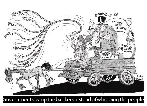 Governments whip the bankers