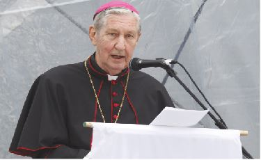 Archbishop Hickey from Australia
