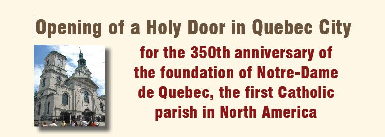 Opening a Holy Door in Quebec City