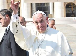 Pope Francis and his Rosary