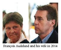 Francois Audeland and his wife