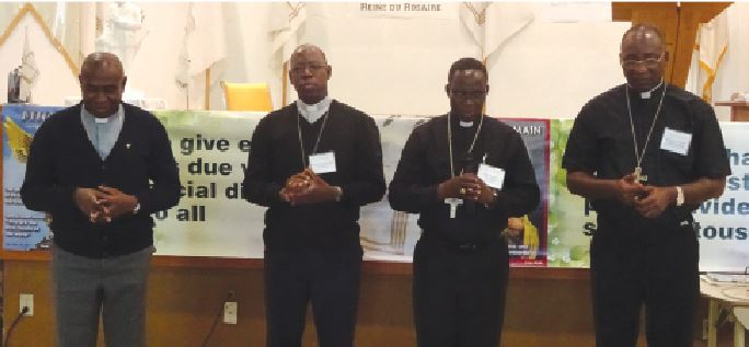 Four African archbishops