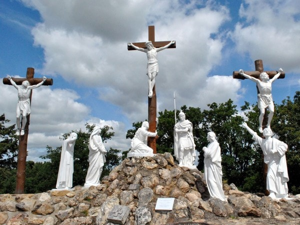 The calvary at Pont-Château
