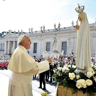 Pope Francis and Fatima