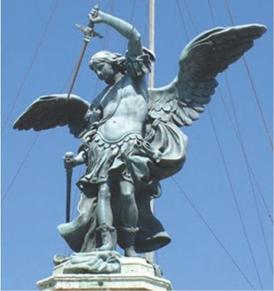 Miraculous Apparitions of St  Michael the Archangel - Rome and Mexico
