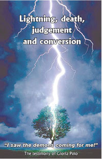 Lightning, death, judgement and conversion